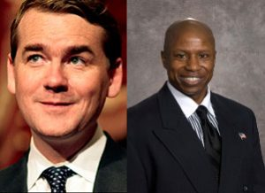 Sen. Michael Bennet and GOP challenger Darryl Glenn aren't even close to being tied in the polls -- but they both HAVE ties.