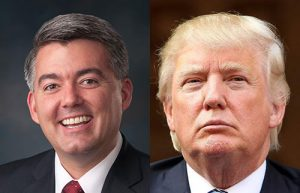If you're asking if Sen. Cory Gardner voted for Donald Trump, well...