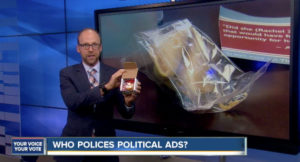 Denver7 political reporter Marshall Zelinger continues to look into patently false campaign ads.