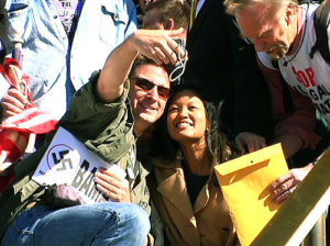 Michelle Malkin (center).