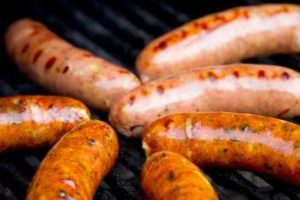 A sausage fest.