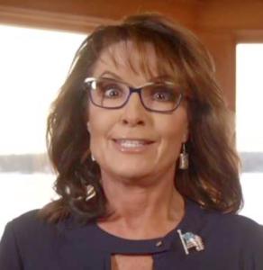 Former Gov. Sarah Palin (R).