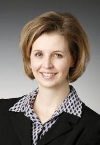 Democrat Rachel Zenzinger (not in China).